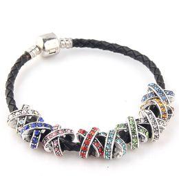 sterling tibetan Sliver rhinestone charm Pandora Loose Beads Space European Style for Pandora Bracelets New Arrival Charm Fit DIY Braceles