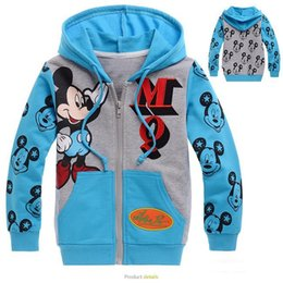 cute kids hoodie and sweatshirt cartoon mickey lovely mouse warm hoodie sweatshirt for 2-8years children kids outerwear clothes hot sale