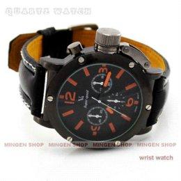 2017 la montre-bracelet pour hommes Hot Sale luxe Black Strips Hour marques Vogue V6 sport Quartz Watch Hommes Business Wrist Watch promotion la montre-bracelet pour hommes