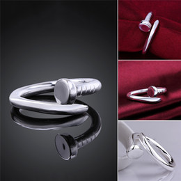 You Want The Same Paragraph Korean Star With A Nail Factory Wholesale Jewelry Diamond Ring Opening Lovers rings