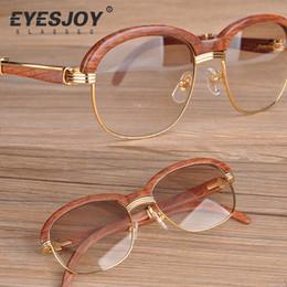 Wholesale Retro Sunglasses Styles Cheap Glasses Luxury Brand Designer Glasses for Women Men with Box and Logo Original Wooden CR39 CT1116
