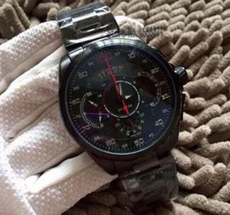 Wholesale-Men Luxury brand fly watch Mercedes SLS hour waterproof AAA stopwatch chronograph kapten Wristwatch Original son watchit bl