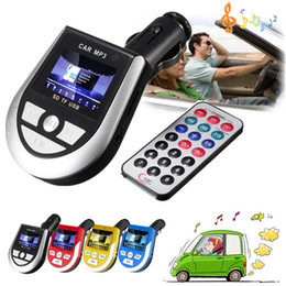 Wholesale car dvd Colors High Quality Best Price Wireless LCD Auto Car Kit MP3 Player FM Transmitter AUX Charger USB TF For SD Remote