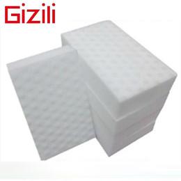 Wholesale High density Compressed nano sponge Magic Sponge Eraser Melamine Cleaner multi functional Cleaning x60x20mm