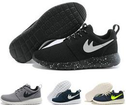 Wholesale Original Roshe Run roche Run black and white rushe one rose ROsheRun RunIngs runing shOe size36