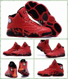 Wholesale 2016 Retro Basketball Shoes For Men Ray Allen Heat Retros Shoes University Red Allen Iverson Sneakers Trainer Shoes Size