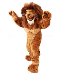 Wholesale King lion simba Alex LEO mascot costume custom fancy costume anim kits mascotte MADAGASCAR fancy dress carnival costume