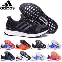 Wholesale 2016 Adidas Originals Ultra Boost Primeknit Men Women Running Shoes Classic Ultra Boosts ultraboost Casual Sneaker Shoes