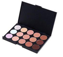 New 2015 Professional Salon Party Makeup 15 Colors Concealer Palette Face Cream makeup palette cream mineral makeup