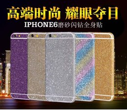 Wholesale Apple iPhone6 before and after s phone sticker to inches of protective grind arenaceous ShanZuan body color film