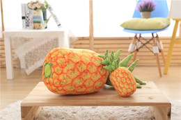 Wholesale Pineapple Toy Pineapple Plush Toys Pineapple Fruit With Pillow Stuffed Adornment Occupy Home Furnishing Articles Sofa On board Bamboo