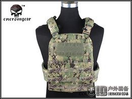 Wholesale Hunting AVS Vest EMERSON CP Style Adaptive Vest Heavy Version Airsoft Painball Military Army Combat Gear EM7397 AOR2