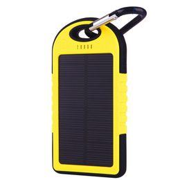 5000mAh Солнечное зарядное устройство батареи панели солнечных батарей и портативный банк питания для сотового телефона для ноутбука камеры MP4 с фонариком водонепроницаемый shockproo E144 solar panel cells on sale от Поставщики клетки солнечной панели