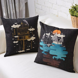 Sun Rose Beauty Picture Cage Art Painting Pillow Massager Decorative Pillows Case Emoji Gift Home Decor Free Shipping