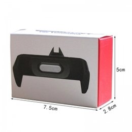 Wholesale High end desktop dual use the air outlet of the free use of a small utility vehicle rack mobile phone holder