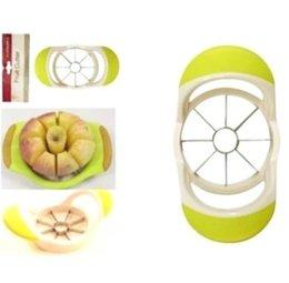 Wholesale Kitchen Stainless Steel Apple Pear Slicer Corer Fruit Wedge Cutter Divider Easy Cut Segmenter paring knives Dining Bar tools Peeler