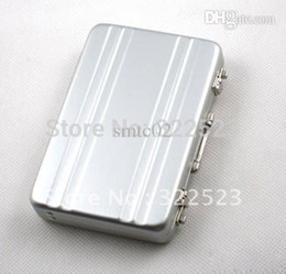 Wholesale Best selling Password Aluminium Credit Mini Briefcase Business Card Case