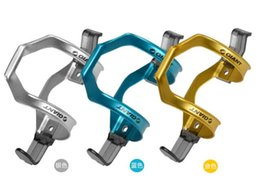 Wholesale L J sport Aluminum Alloy Water bottle cages holdertwo way Lateral orientation Take out design