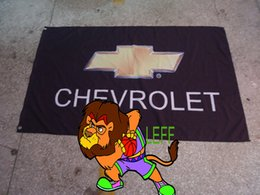 chevrolet racing team flag, 90*150cm,chevrolet racing banner,Digital Printing