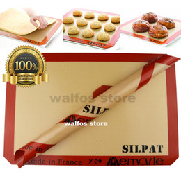 Wholesale 420 mm silpat silicone baking mat silpat pastry mat silpat macaroon oven liner cookie baking sheet silpat baking sheet