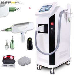 Yag Laser Q Switch Pigment Nevus Eyebrow Tattoo Removal Skin Care Beauty Machine Red Light Target