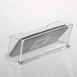 Wholesale 1pc Clear Acrylic Business Card Holder Display Stand Desk Desktop Countertop Top Sale lt US no tracking
