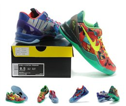 Wholesale KOBE VIII SYSTEM PREMIUM basketball shoes What the kobe shoes for men factory price cheap men s sneakers