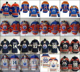 Wholesale Men s Old Time Hockey Edmonton Oilers Taylor Hall Jordan Eberle Connor McDavid Wayne Gretzky Authentic Royal Blue