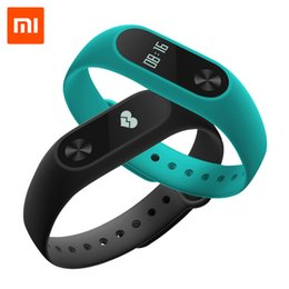 Xiaomi Mi Band 2 MiBand 2 Wristband Bracelet Smart Heart Rate Monitor Fitness Tracker with Touchpad OLED Screen