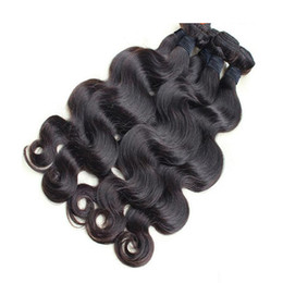 Wholesale Brazilian Hair Body Wave Hair Weaves A Great Quality Human Hair Extensions Peruvian Malaysian Indian Cambodian Brazilian Human Hair Weft