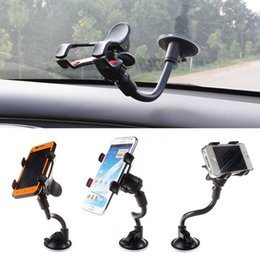 Car Mount Holder 360 Rotation Windshield Bracket for GPS Mobile Phone Wholesale With Retail Box Hight Quality