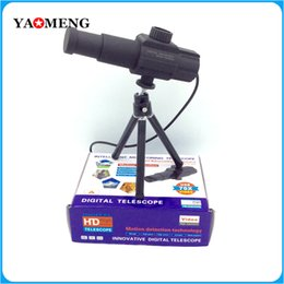 Wholesale New Original x Zooming Long Distance USB HD Digital Telescope MP House Surveillance Video Monitor Camera System languages