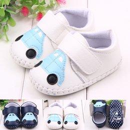 Wholesale New Spring Baby Girls Pu Car First Walker Shoe Infant Leather Sport Prewalker Autumn Toddler Antiskid Shoe Children Casual Footwear