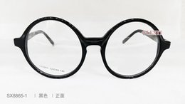 hot-sale New Retro-vintage round pure-plank frame for glasses black tortoise color with wholesale price freeshipping