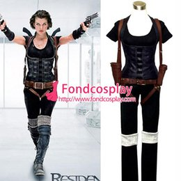 Wholesale Resident Evil Afterlife Alice Suit Movie Costume Cosplay Tailor made