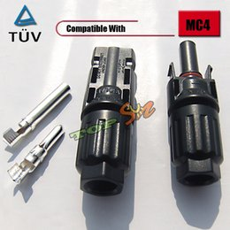 Wholesale 500 pairs Factory Directly TUV MC4 Solar PV Adapter Connector IP67 A V
