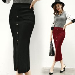 Stretch pencil skirt long – Modern skirts blog for you