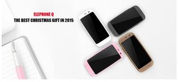 Wholesale Mini Cute Pink Elephone Q inch Screen Dual Core MTK6572W GHz MB GB Android KitKat GPS WiFi G WCDMA MP Camera Smartphonef