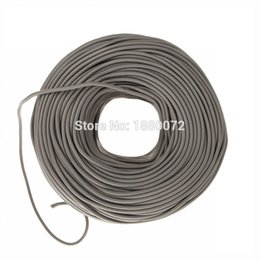 Wholesale Vintage textile Edison braided Cable Retro Fabric electrical Wire antique DIY pendant lamp wire mm
