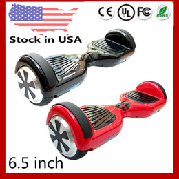 Wholesale 6 inch inch Two Wheels Electric Mini Scooters Smart Hover Board Self Balancing Scooter Skateboard USA Stock Dropshipping