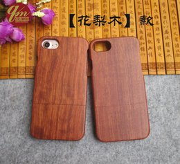 Wholesale Newest High Quality Real Wood Case For Iphone plus G Bamboo Hard Cover Phone Housing For Apple Iphone7 plus Cases Shell Protector