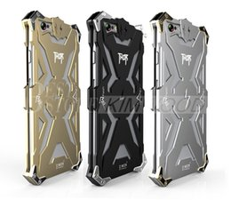 Wholesale Armor Case Shockproof Metal Frame TPU Armour Case All Cover For iPhone s and iphone plus s plus