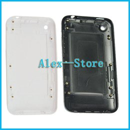 White or Black Back Battery Door housing for Apple iPhone 3G 3GS 8GB 16GB 32GB Rear Battery Door Housing Case
