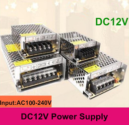 Wholesale Input AC100 V Output DC12V Led Transformer A W A W A W A W A W Power Supply For Led Strips Led Modules