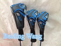 Wholesale Best Quality New Golf G30 Driver Fairway Wood Set Head Cover Golf G30 Woods Headcover Clubs