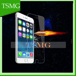 Wholesale Premium Real Tempered Glass Film Screen Guard Protector fr App iPhone iphone6s Plus inch Ultra Thin D mm Clear Toughened Film