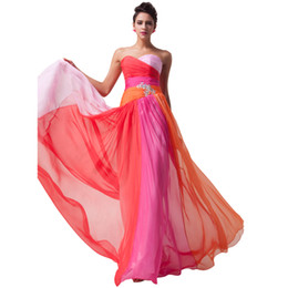 2019 New Arrival Red Bule Brides Maid Dresses Long Chiffon Bridemaid Dresses Robe Demoiselle D'honneur Prom Dresses Party Dress Cheap