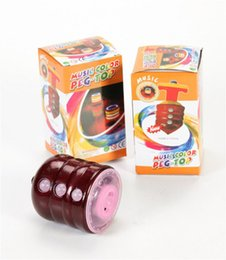 Wholesale children s toys flash colorful music gyro feel good material security assured quality assurance