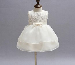 retail 2016 summer outfits dress Newborn baby girl Baptism Dress Christening Gown kids Girls' party Infant Princess wedding summer dresses