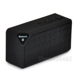 China inalámbrica inteligente en venta-X3 mini altavoz Bluetooth, altavoces inalámbricos modo de radio FM Audio unidad USB portátil inteligente ayuda del jugador de tarjeta TF con el regalo llevado